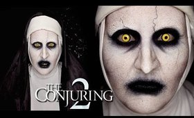 VALAK from The Conjuring 2 Makeup Tutorial by goldiestarling