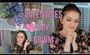 GRWM | Valentines Day 2018 ~ Outfit, Makeup, & Hair! :)