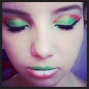 Luck of the Irish. St.Patrick's Day Makeup :)