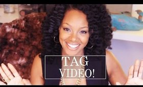 I've Been Tagged! Personal, Motherhood, Channel Meaning