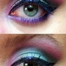 Pink-green eye