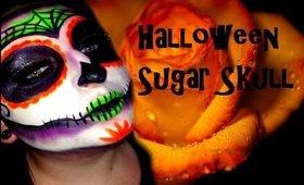 Halloween Inspired Sugar Skull Tutorial
