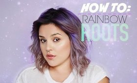 HOW TO: RAINBOW ROOTS ( PASTEL HAIR ) | KAZ IN LOVE