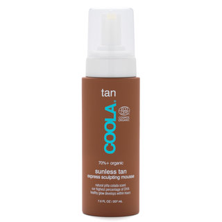 COOLA Gradual Sunless Tan Express Sculpting Mousse