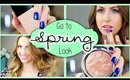 Get Ready with Me ♥ Go To Spring Look w/MakeupbyAlli!
