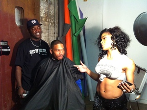 Stevie J. & Joseline form VH-1's L&HH Atlanta for a magazine shoot...