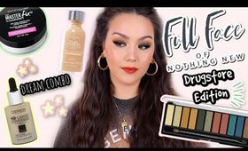 FULL FACE OF NOTHING NEW | DRUGSTORE EDITION