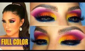 Maquillaje FULL COLOR probando productos NUEVOS !  | auroramakeup
