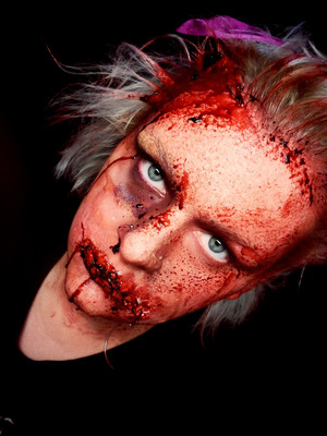 pReTTy Special FX Makeup (Halloween 2011)