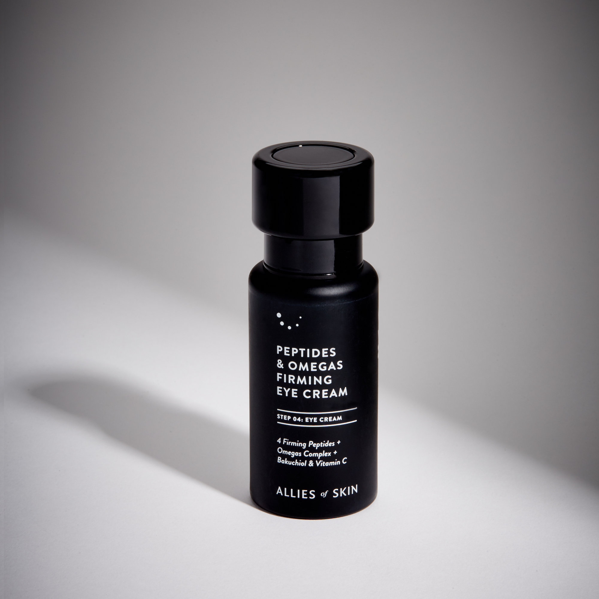Alternate product image for Peptides & Omegas Firming Eye Cream shown with the description.