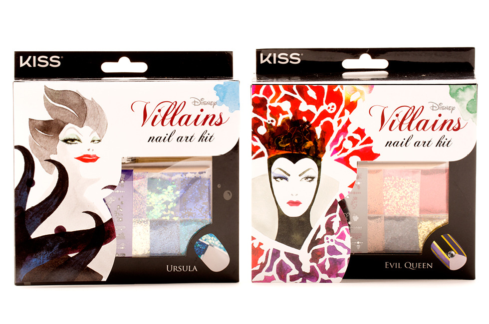 Disney Villians Nail Kits