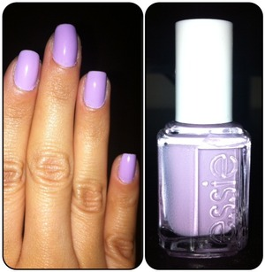 Soft, light lavender shade by Essie