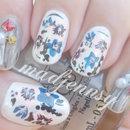 Japanese Spring Inspired Nail Art
