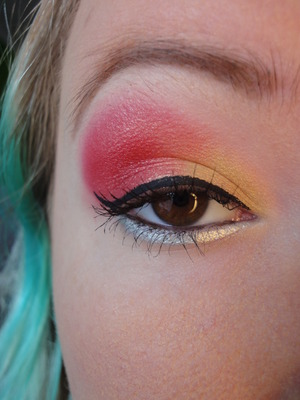 Bright Holiday Look