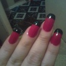 Red and black tips
