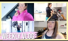 WEEKLY VLOG 📸 | WHAT I EAT 🥘 COOK WITH ME 👩🍳 WORKOUT WITH ME 🏋🏻♀️