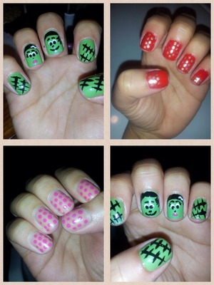 I'm definitely no pro but I enjoy doing my nails...it's fun and relaxing