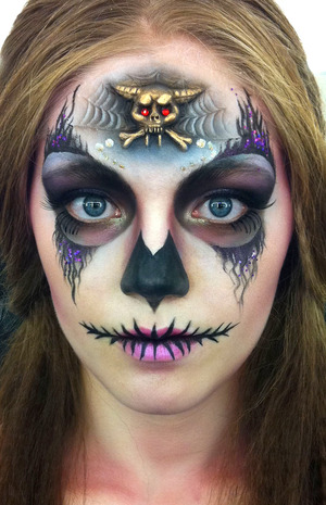 Makeup by Blanche Macdonald Makeup graduate Kiki Xiang. This is her work from her Prosthetics final.