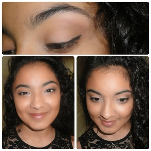 Teen makeup for my oldest daughter Zoila