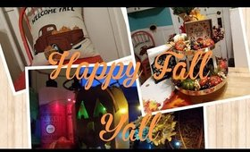 Fall Clean with Me. Halloween & Fall Decor and 🍁🎃