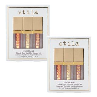 Stila Iridescent Glitter & Glow Liquid Eye Shadow Set (Buy One, Get One)