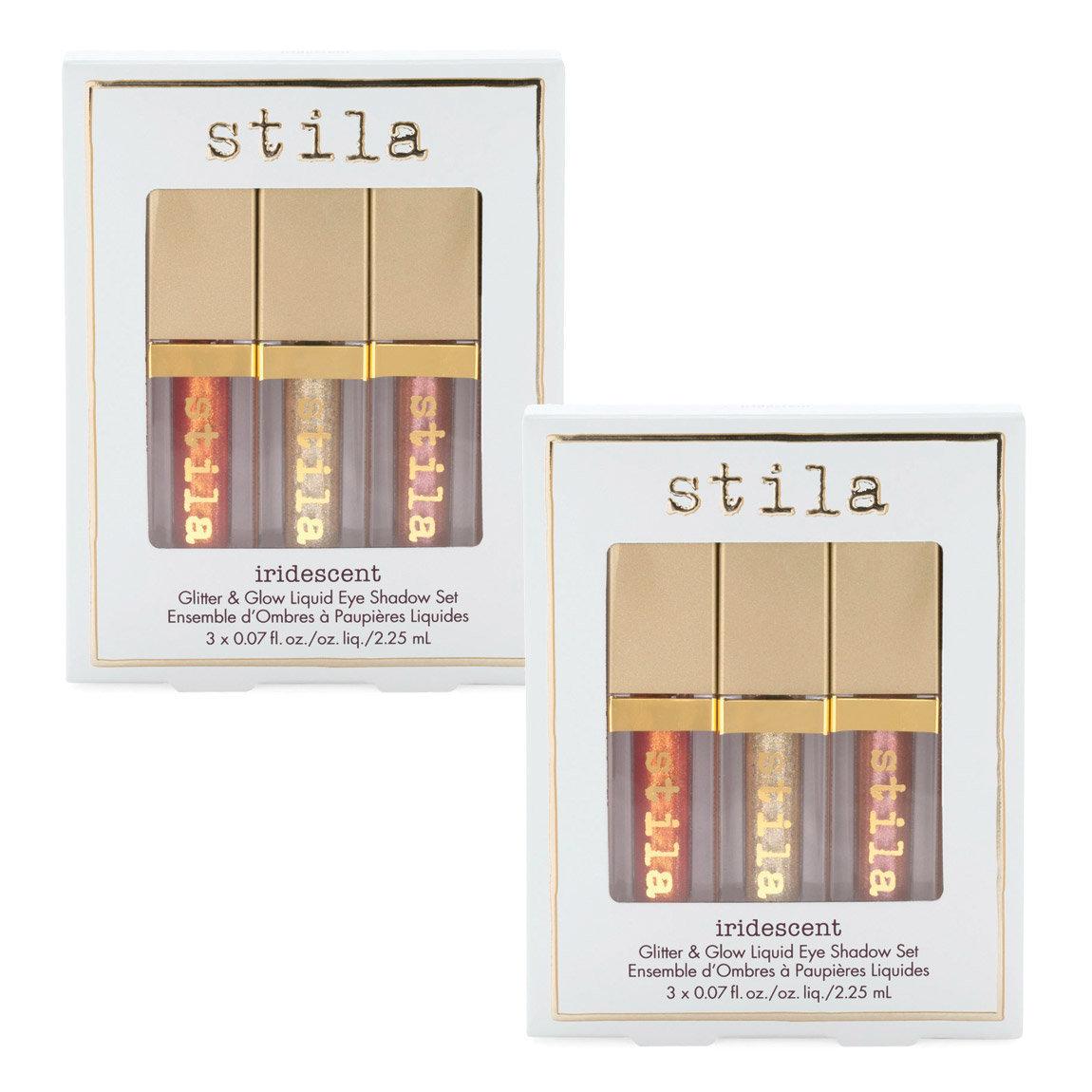 Buy one Stila Iridescent Glitter & Glow Liquid Eye Shadow Set, get one free