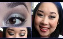 NHL Tutorial - Winnipeg Jets! Glittery Silver Lid & Blue Liner