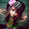 Another Scene girl hair style