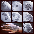 Step By Step Henna