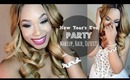 New Year's Eve Party   Makeup + Hair + Outfit   @LayanBubbly @BeautybyGenecia