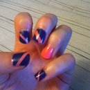 Nails stripes