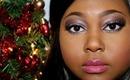 Holiday Makeup Tutorial: Sugar Plum Sparkle