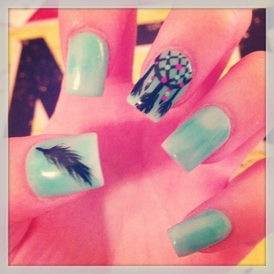 My lovely nails by SandraO at Studio1514