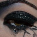 Dark Tears Makeup