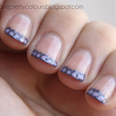 Scalloped French Manicure