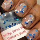 Darling Diva Unicorn Bath
