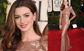 Golden Globes Makeup 2011: Anne Hathaway
