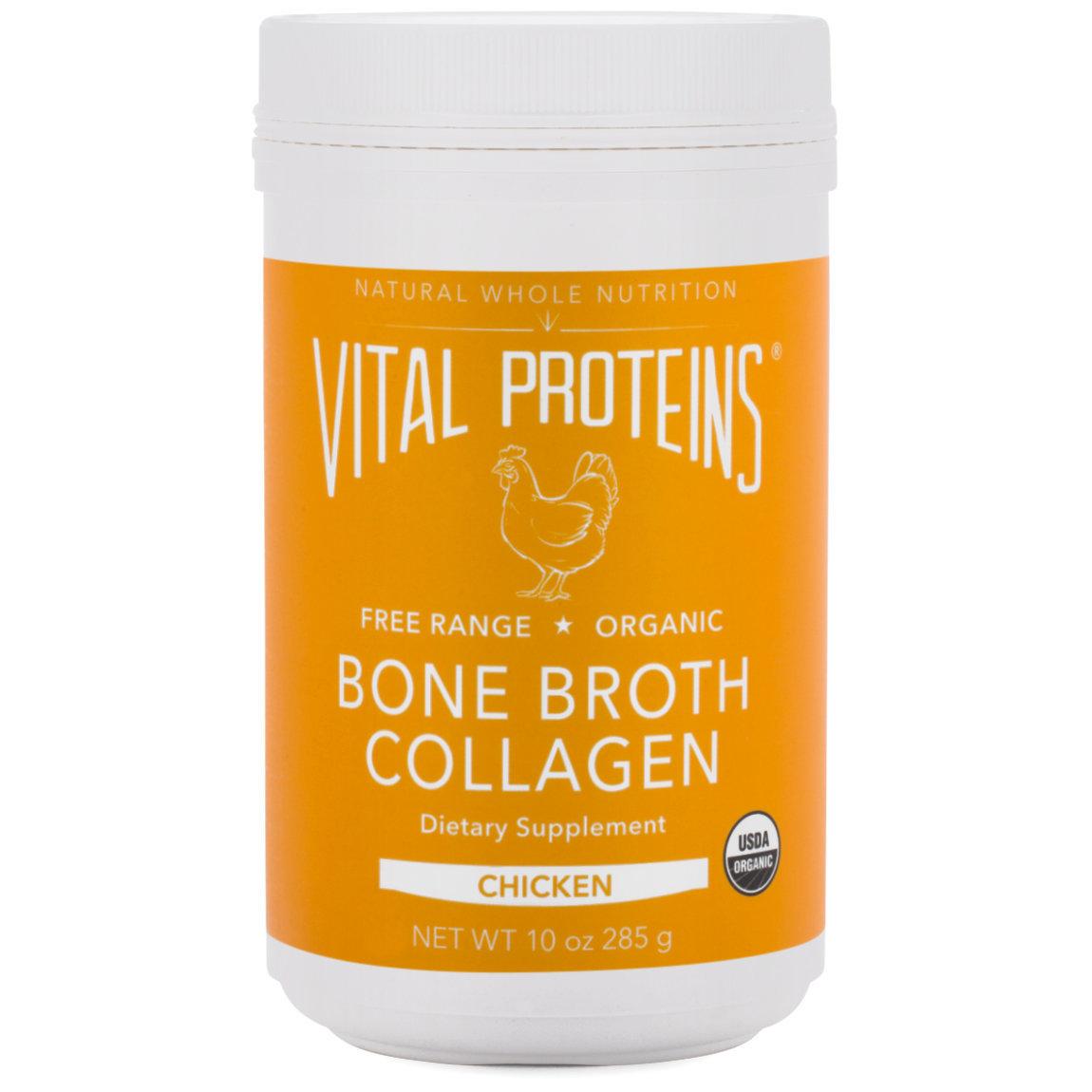 Vital Proteins Bone Broth Collagen - Unflavored Chicken 10 oz product swatch.