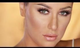 Bronze Goddess Makeup Look