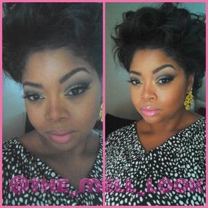 mac lipstick bh cosmetics eyeshadow iman cosmetics foundation