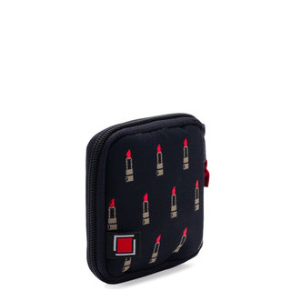 Valiant Rouge Black Jewelry Pouch