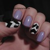 Lavender And Chevrons