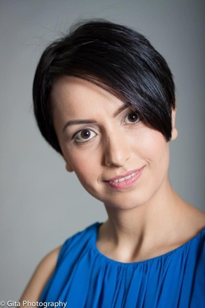 Headshots done, simple and natural look for headshoots for a work application.