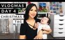 Vlogmas Day 4! Christmas Tag (and baby Liam)