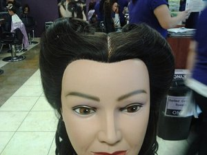 50s inspired hairstyle(front)