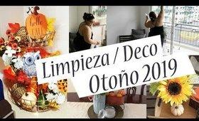 [MOTIVATE]-Limpieza y decoración OTOÑO 2019-🌻DECORANDO MI SALA, COCINA Y COMEDOR PARA OTOÑO 2019