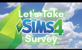 Let's Take The Sims 4 Survey #misplacedmoo #sims4survey #betterbabies
