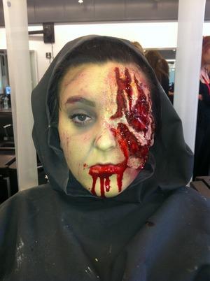 Special effects Halloween makeup look