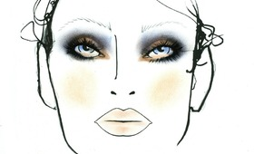 New York Fashion Week, Fall 2011: MAC at Jason Wu