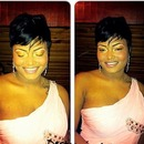 makeup done by me for a wedding